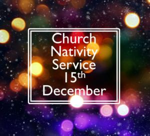 Church Nativity Service 15th December