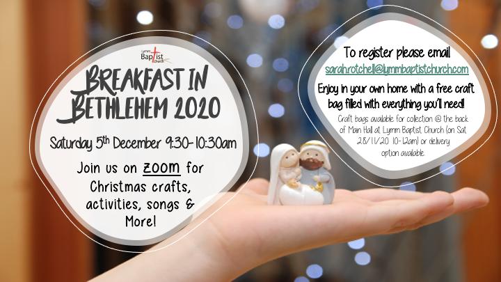Breakfast in Bethlehem 2020